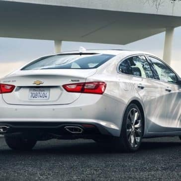2018 Chevrolet Malibu rear view