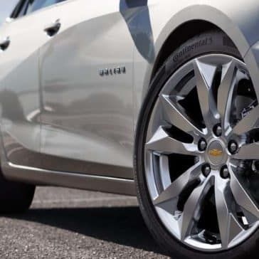 2018 Chevrolet Malibu tire detail