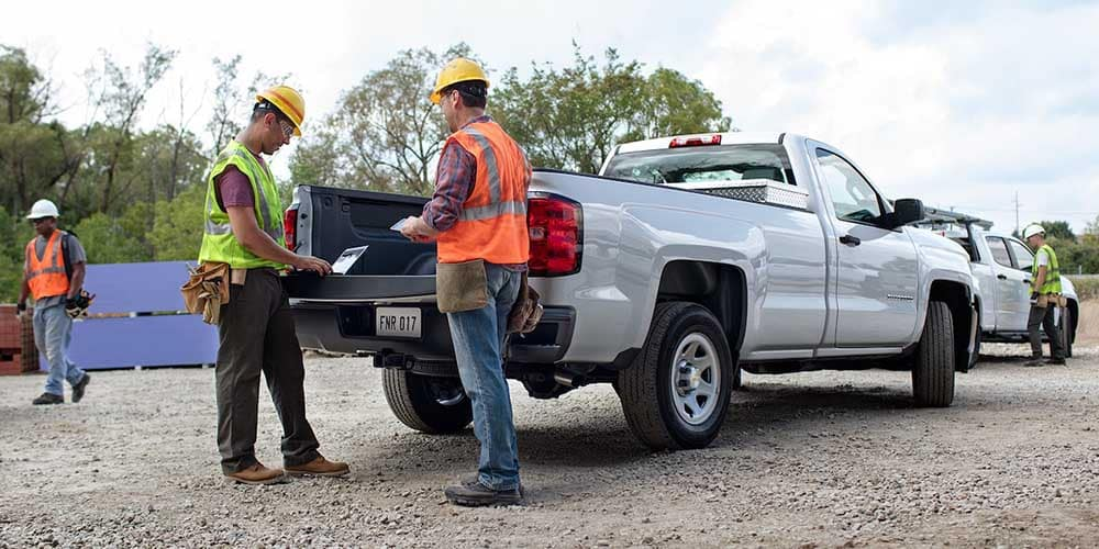 2018 Chevy Silverado 1500 Workers