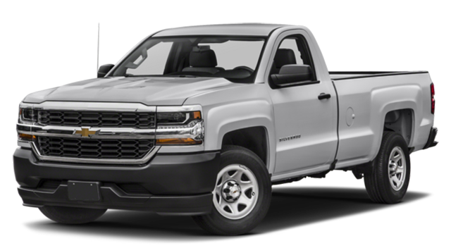 2018 Chevy Silverado White