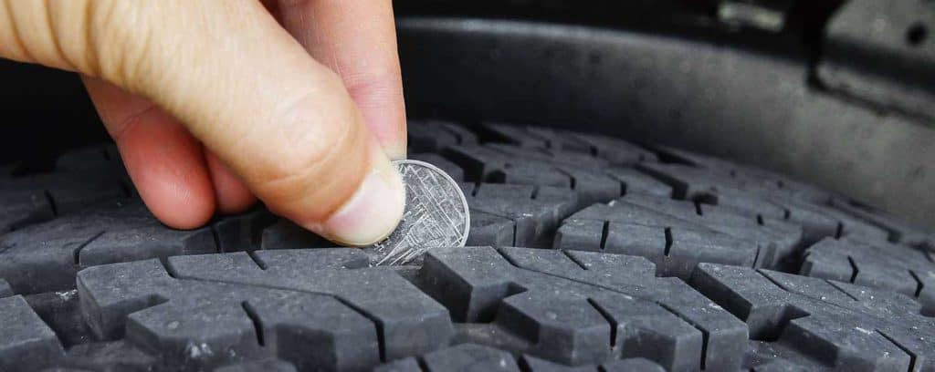 measuring tire depth
