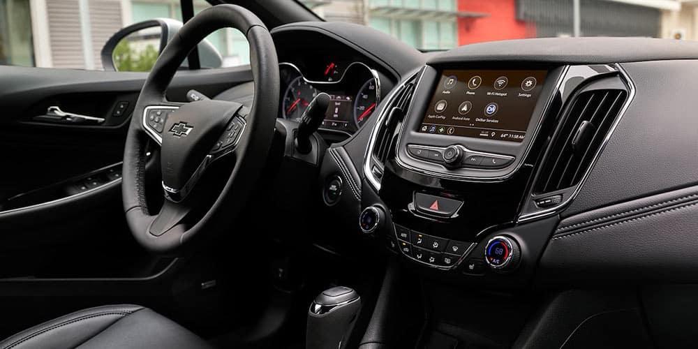 2019 Chevrolet Cruze Interior Features Space Chevy Cruze