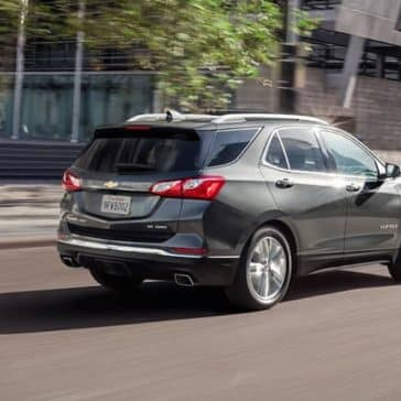 2019 Chevrolet Equinox rear view on city street