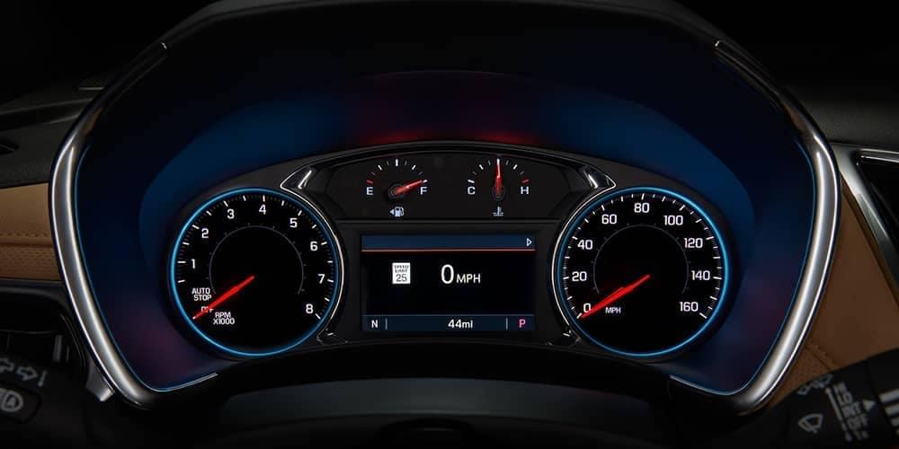 2019 Chevrolet Equinox instrument detail