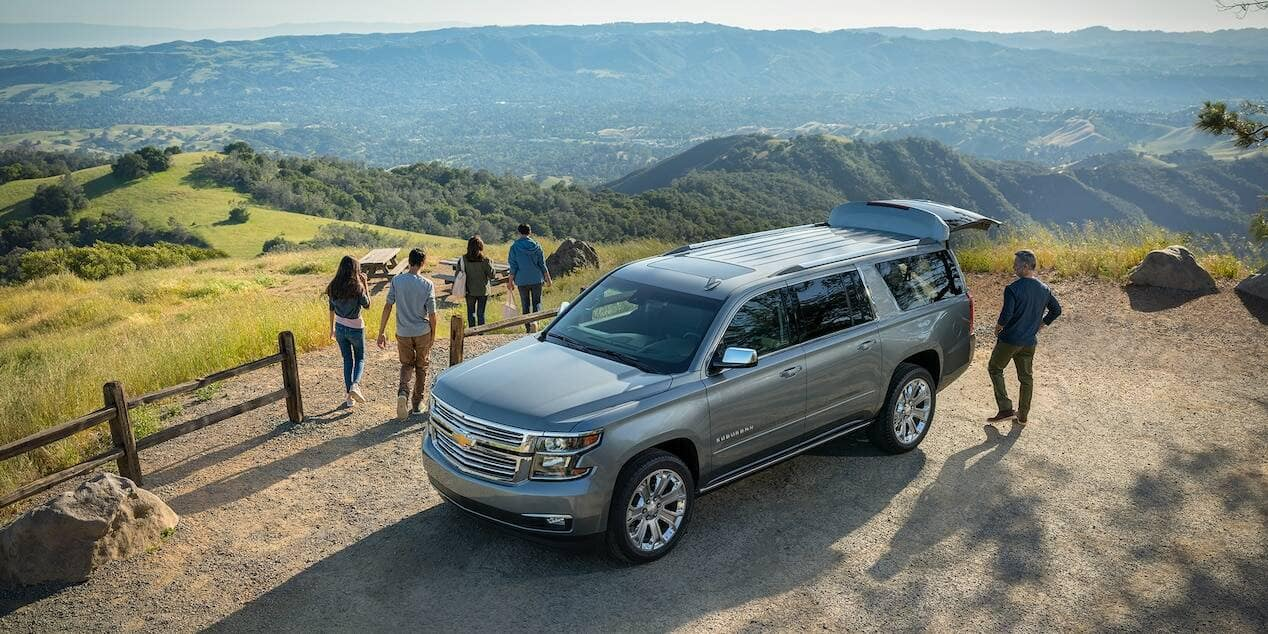 2019 Chevrolet Suburban Parked