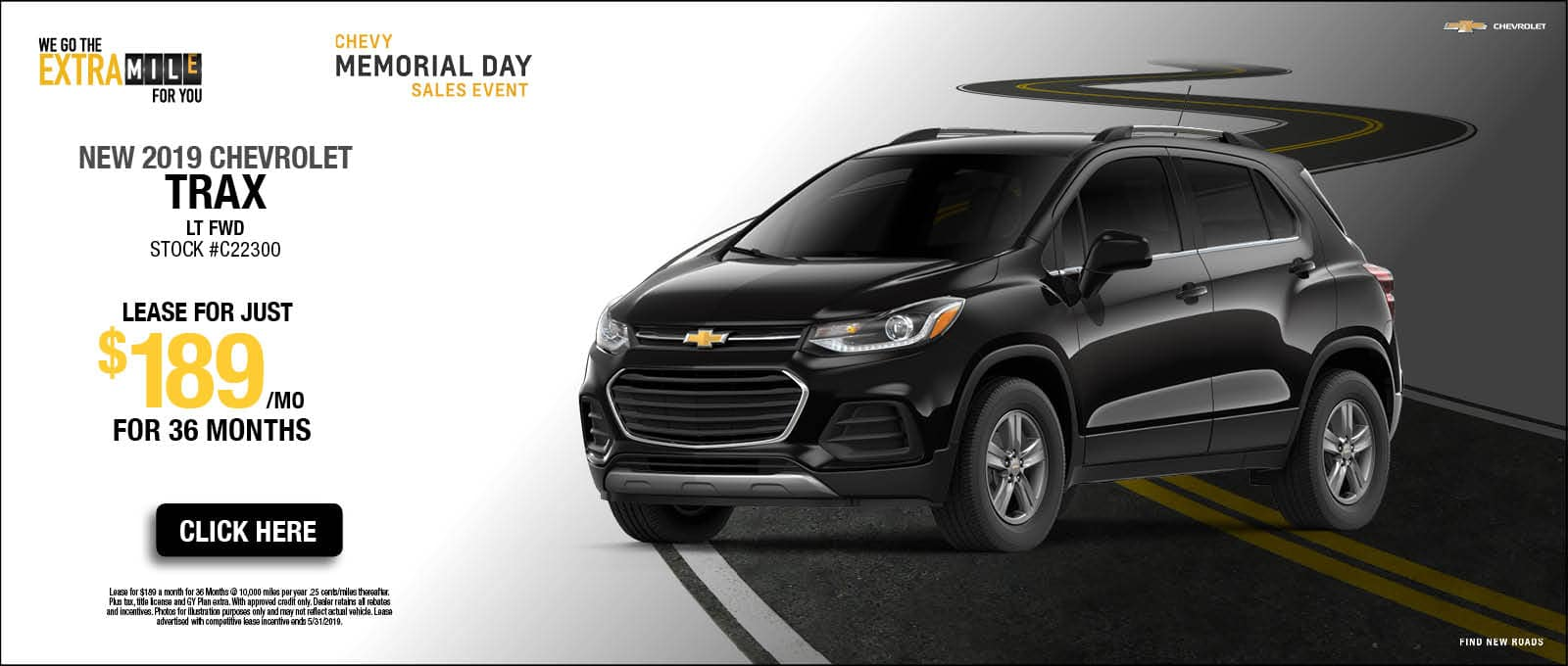 2019 Chevy Trax Memorial