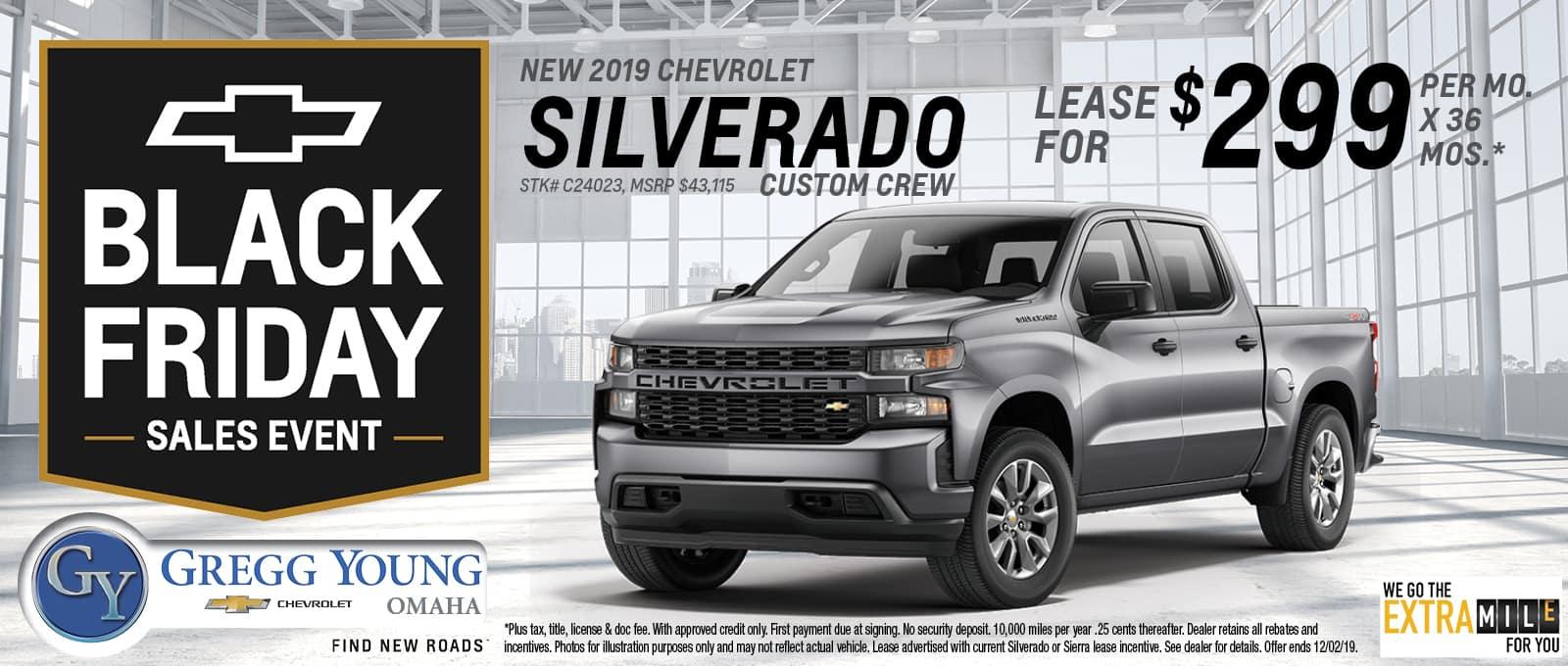 2019 Chevy Silverado Custom