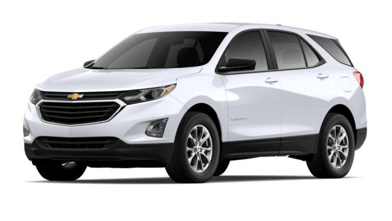 Summit White 2020 Chevy Equinox L