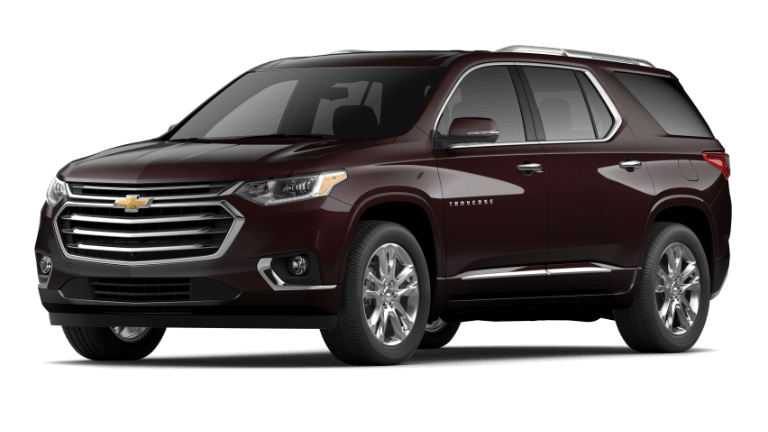 2020 Chevy Traverse High Country - Black Cherry