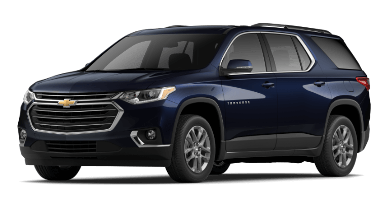 2020 Chevy Traverse LT Leather - Midnight Blue