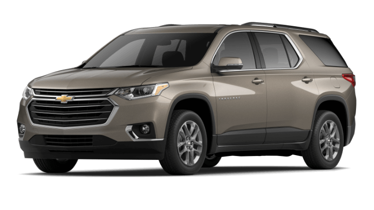 2020 Chevy Traverse LT Cloth - Stone Gray