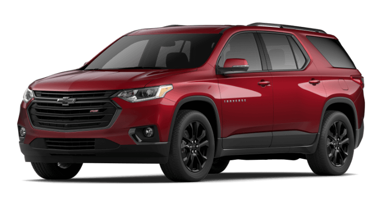 2020 Chevy Traverse RS - Cajun Red