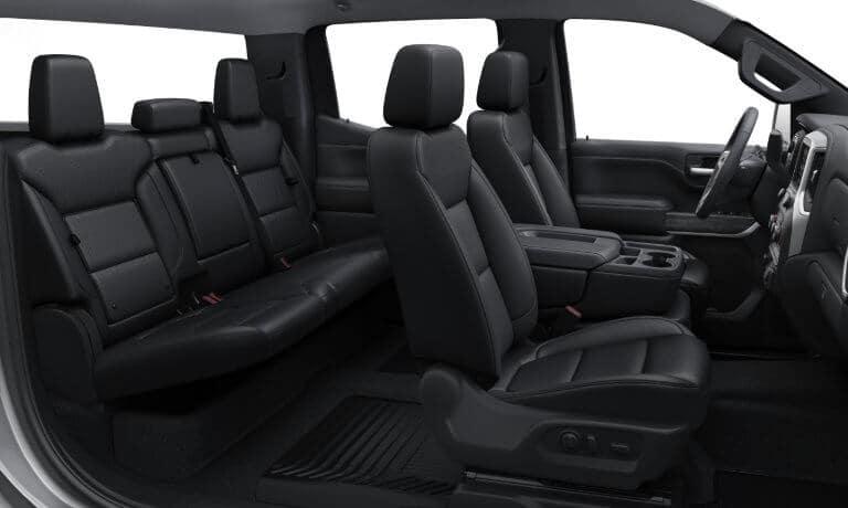 2020 Chevy Silverado 1500 interior and exterior