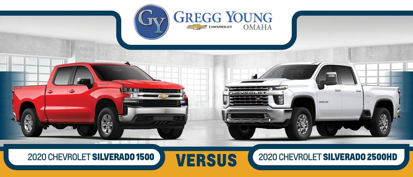 2020 Chevy Silverado vs. 2020 Chevy Silverado 2500HD