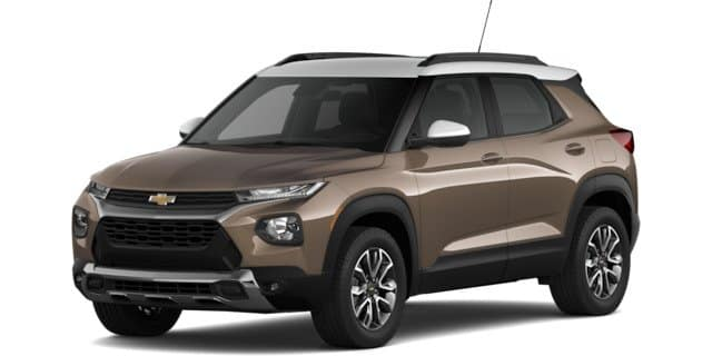 2021 Chevy Trailblazer ACTIV trim