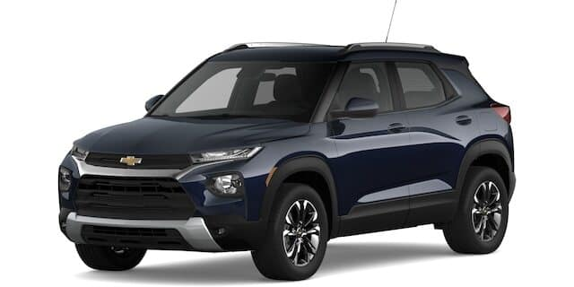 2021 Chevy Trailblazer LT trim