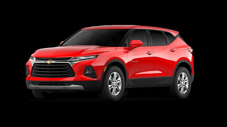2021 Chevy Blazer 1LT - Red Hot