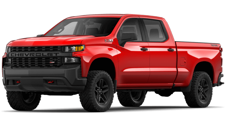 2021 Chevy Silverado 1500 Custom Trail Boss Trim