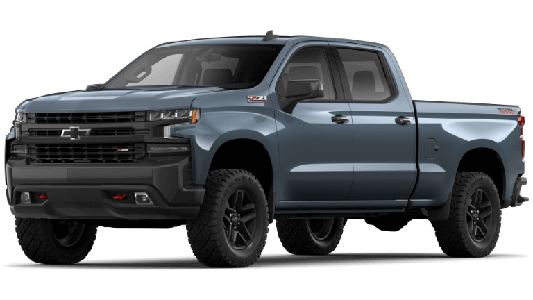 2021 Chevy Silverado 1500 LT Trail Boss Trim