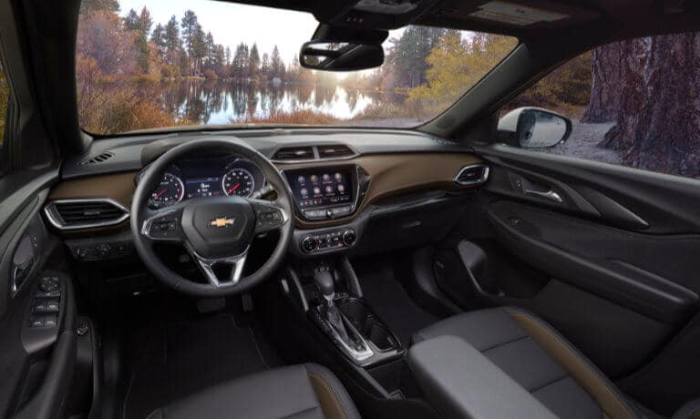 2022 Chevy Trailblazer interior front view