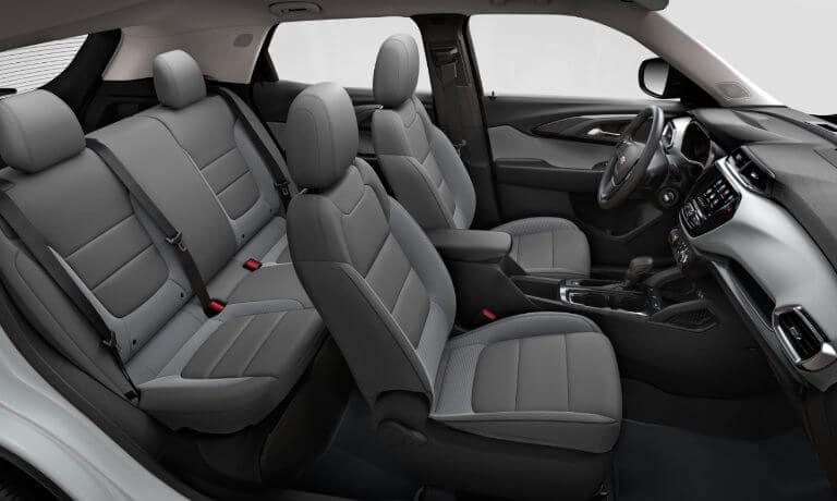 2022 Chevy Trailblazer interior seating