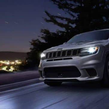 2019 Jeep Cherokee highway night