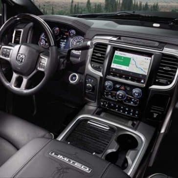 2018 RAM 2500 front seat