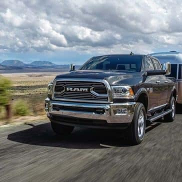 2018 RAM 2500 towing trailer