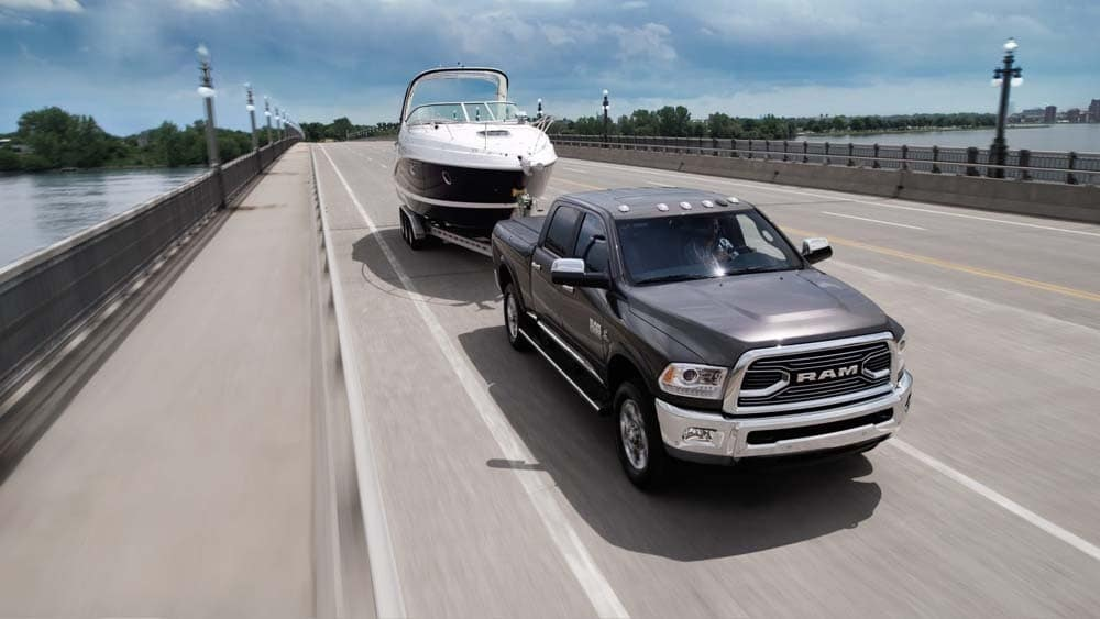 2018 RAM 2500 highway towing