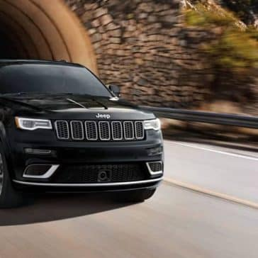 2019 Jeep Grand Cherokee exiting tunnel