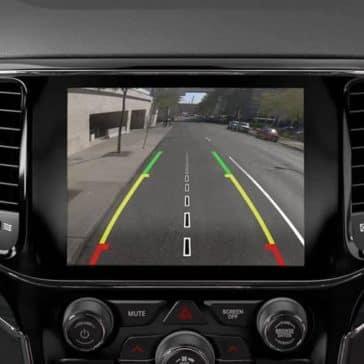 2019 Jeep Grand Cherokee navigation screen