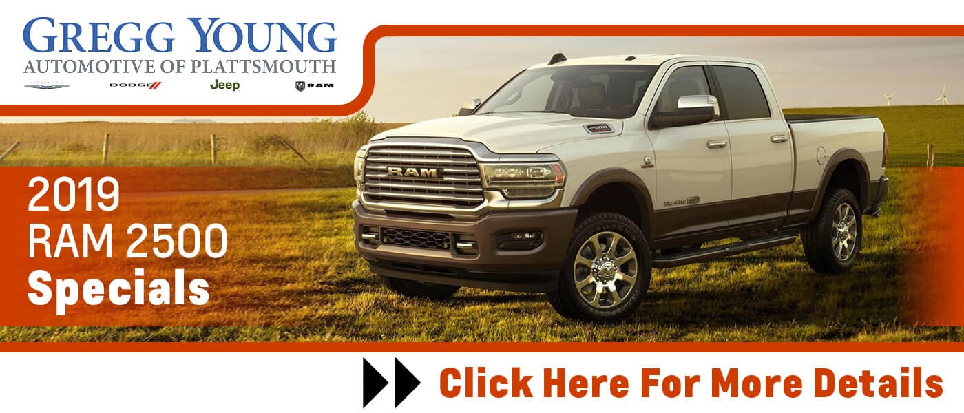 Click Here for 2019 RAM 2500 Specials