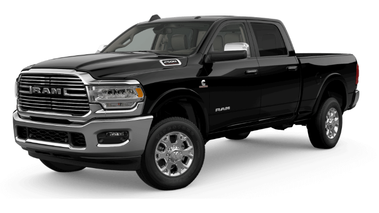 2019 RAM 2500 - Diamond Black Crystal