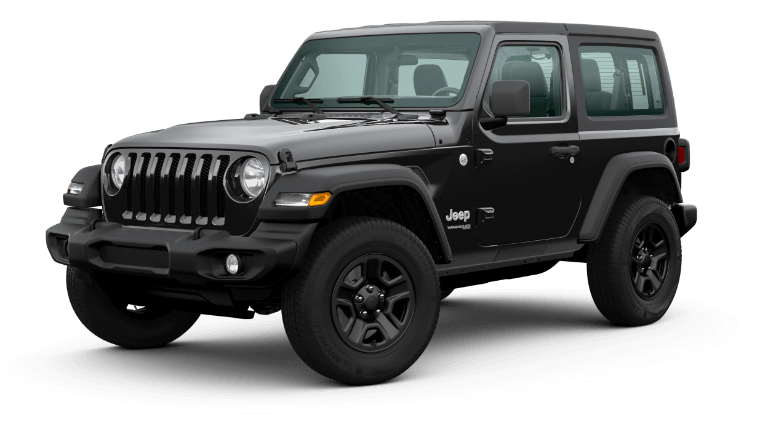 2020 Jeep Wrangler - Black