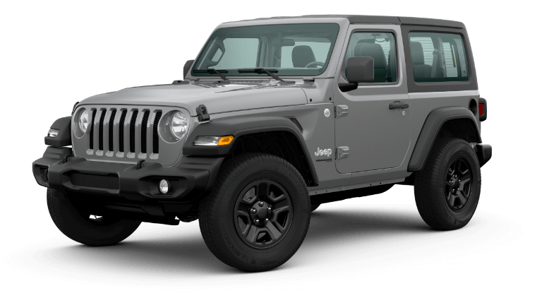 2020 Jeep Wrangler - Sting Gray