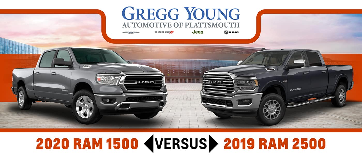 2020 Ram 1500 Vs 2019 Ram 2500 Which Truck Is Right For You