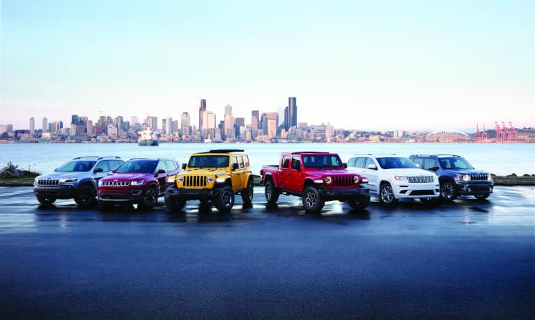 Jeep Model Lineup
