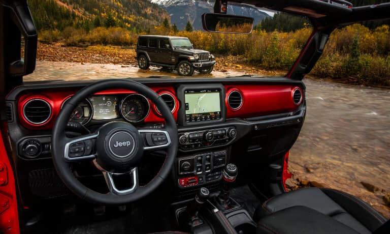 2021 Jeep Wrangler interior