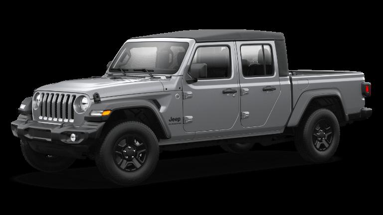 2021 Jeep Gladiator Sport Billet Silver