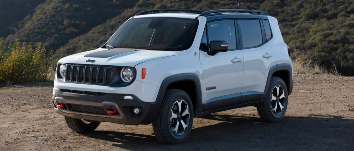2021 Jeep Renegade parked outside