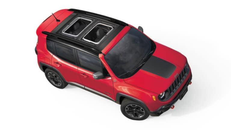 2021 Jeep Renegade top exterior view