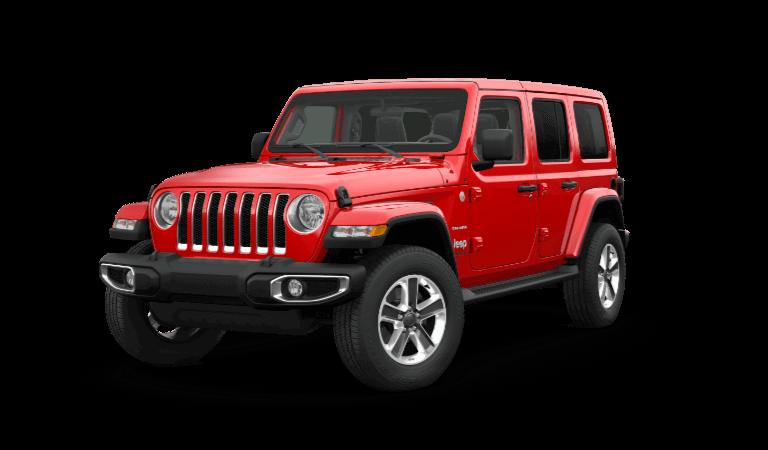 Incoming 2021 Jeep Wrangler Vehicles