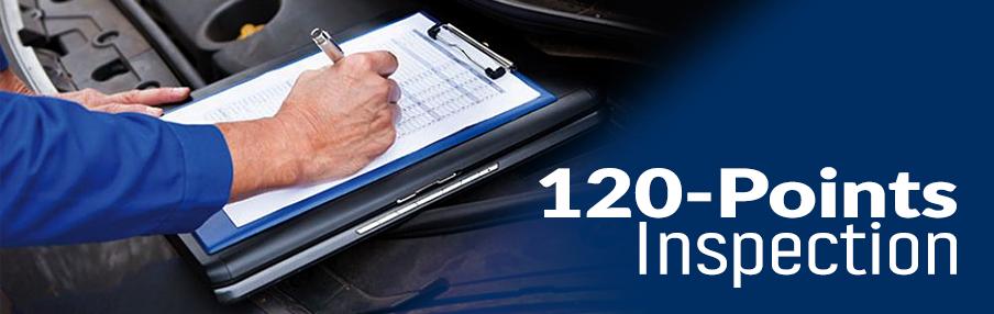 120 Points Inspection Harmony Honda