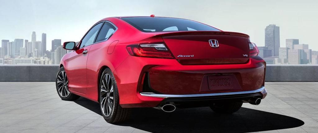 2017 Honda Accord Coupe Back