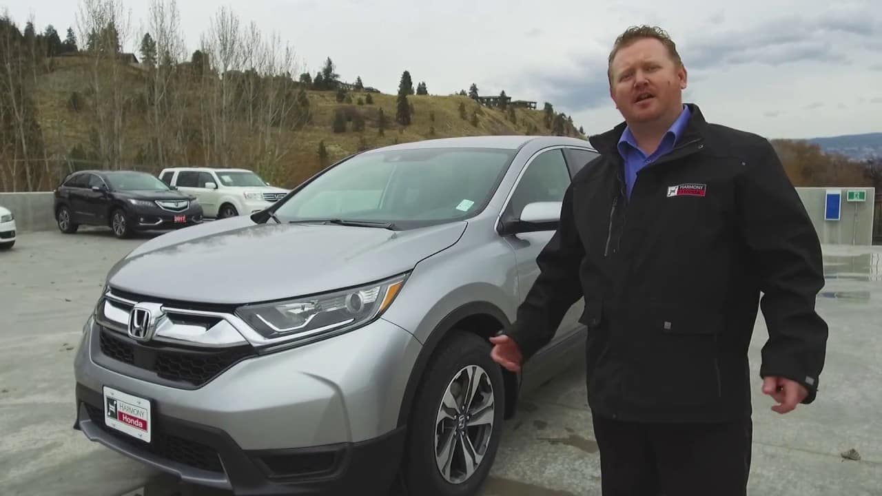 The New 2018 Honda CR-V at Harmony Honda in Kelowna