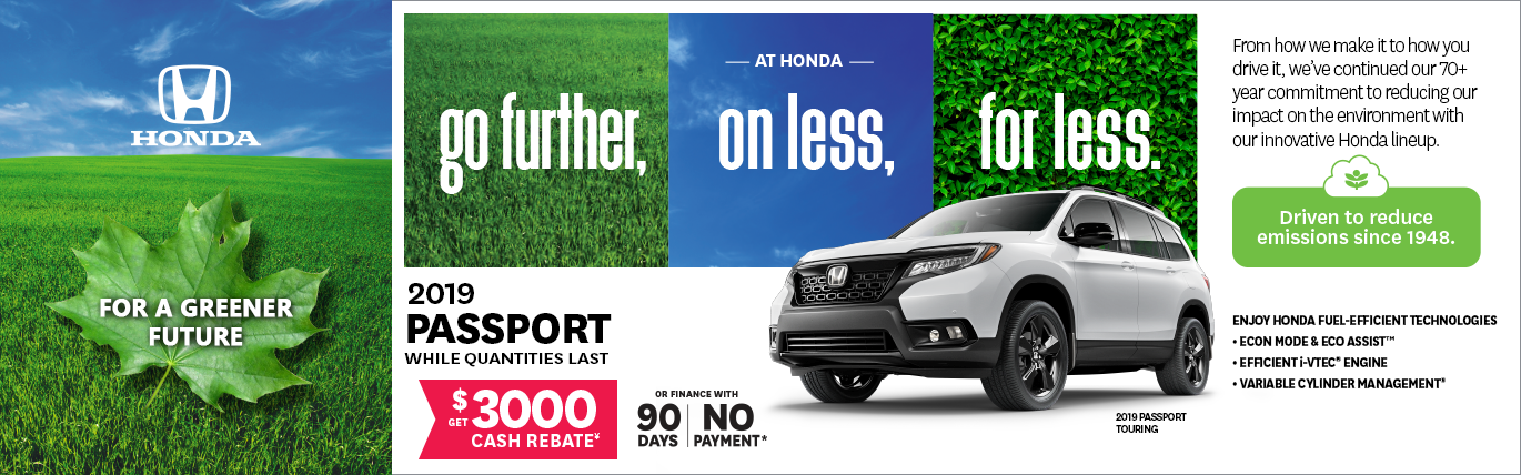 Offer February 2020 Honda Passport