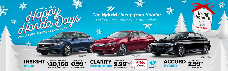2020 Hybrid Lineup