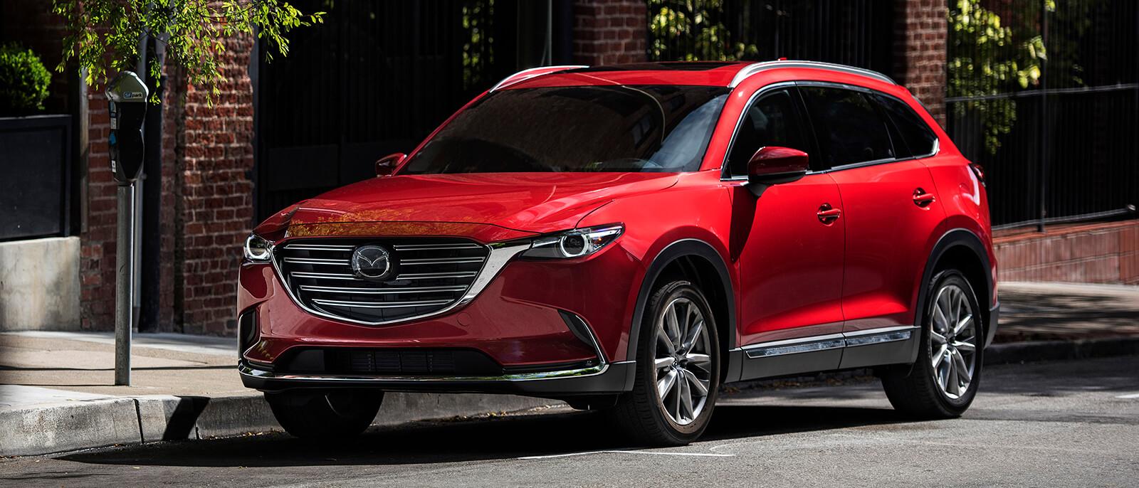 2016 Mazda CX-9 Red