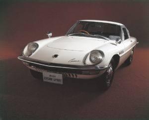 White Mazda Cosmo Sport