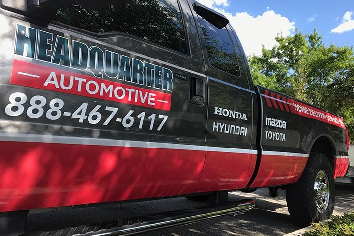 Headquarters Automotive Truck